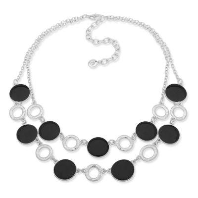 Gloria Vanderbilt Womens Brass Collar Necklace zL1toynJ
