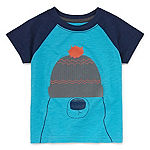 Okie Dokie - Baby Boys Short Sleeve Graphic T-Shirt