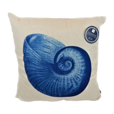Shell Beauty Square Throw Pillow