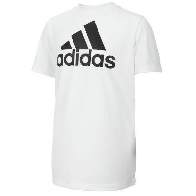 adidas Short Sleeve Graphic T-Shirt-Big Kid Boys