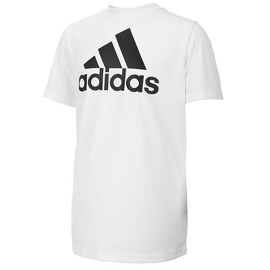9aaed55f10e adidas Short Sleeve Crew Neck T Shirt Big Kid Boys JCPenney