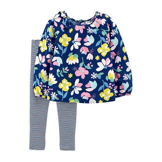 Carter's Girls 2-pc. Baby Clothing Set-Toddler