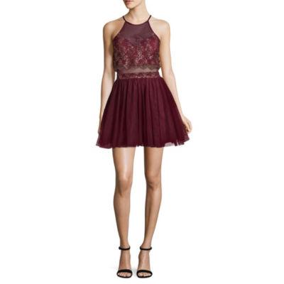 Social Code Sleeveless Party Dress-Juniors