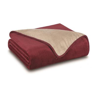 All Seasons Reversible Plush Blanket
