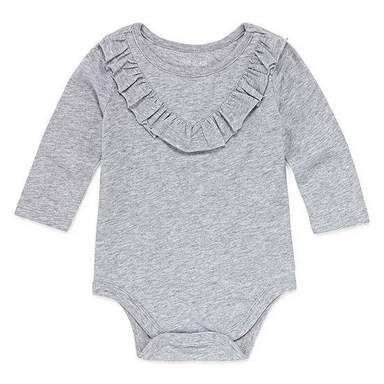 Okie Dokie Bodysuit-Baby Girls