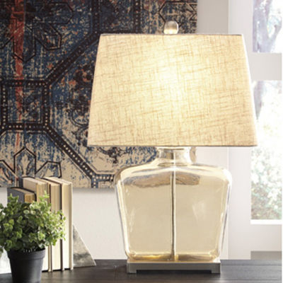 Signature Design by Ashley® Janae Glass Table Lamp