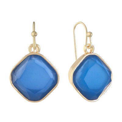 Liz Claiborne Green Drop Earrings