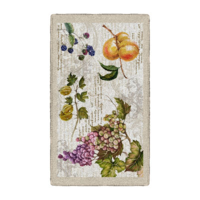 Brumlow Timeless Fruit Printed Rectangular Rugs