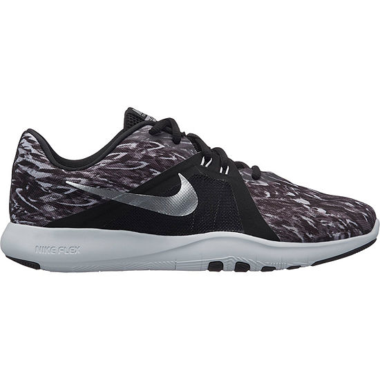 lowest price 86ee7 ae478 Nike Flex Trainer 8 Print Womens Training Shoes Lace-up - JCPenney