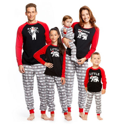 Holiday FAMJAMS Fairisle Bear Family Pajamas