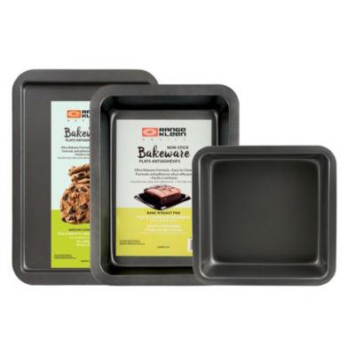 Range Kleen Nonstick Bakeware 3pc Set 3-pc. Non-Stick Bakeware Set