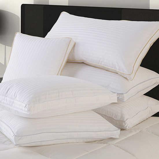 Ultra Down Soft Down Pillows with Protector - Set of 2