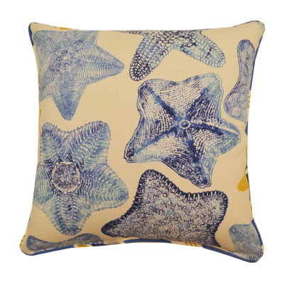 Seabiscuit Square Corded Outdoor Pillow