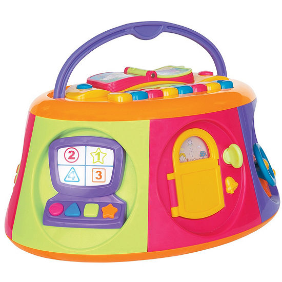 Kiddieland Carry Along Activity Box Baby Toy