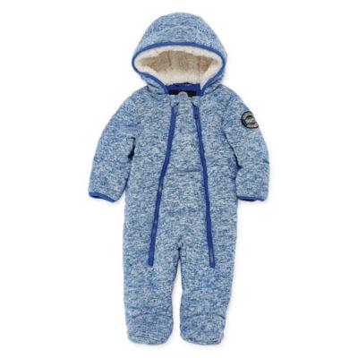 Weatherproof Pram Heavyweight Snow Suit-Baby Boys