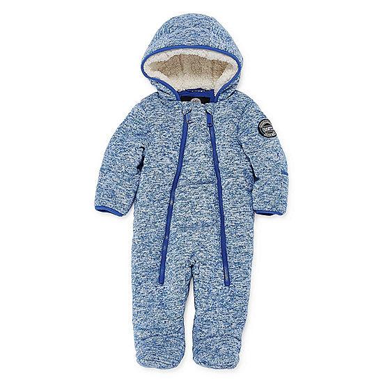 58ebc791d Weatherproof Pram Heavyweight Snow Suit-Baby Boys - JCPenney