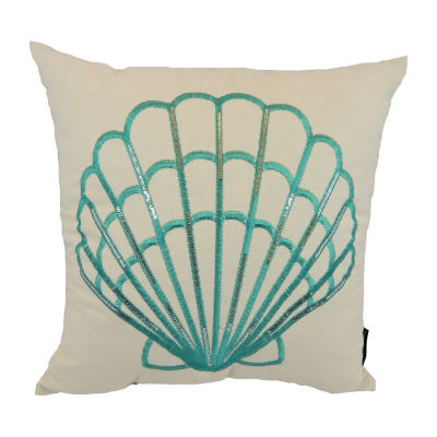 Ariel Square Throw Pillow