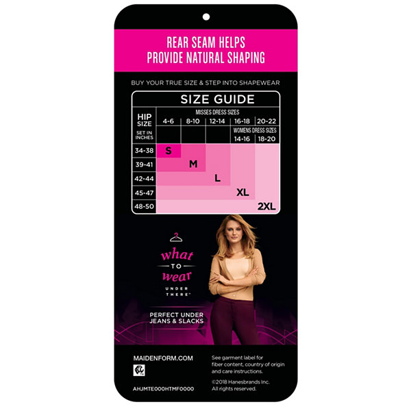 Maidenform Firm Foundations Tame Your Tummy Firm Control Control Briefs 1028j