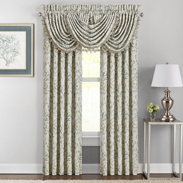 Queen Street Delphina Rod-Pocket Curtain Panel