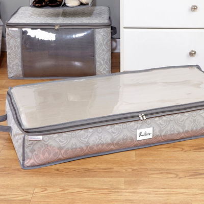 Non-Woven Under Bed Storage Bag 40X18X6 inches- Almeida