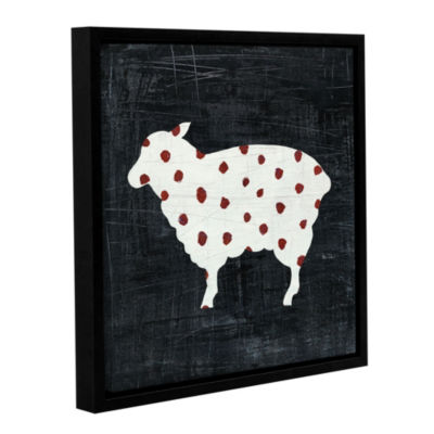 Modern Americana Farm II Floater-Framed Gallery Wrapped Canvas