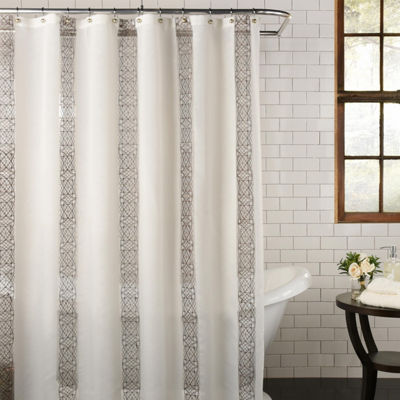 Excell Home Fashions Waldorf Shower Curtain