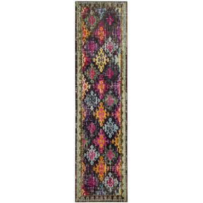 Safavieh Monaco Collection Flint Geometric RunnerRug