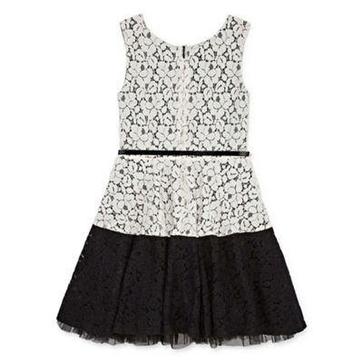 Knit Works Sleeveless A-Line Dress Girls