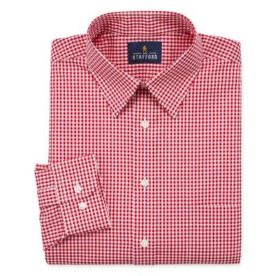Stafford Travel Stretch Performance Shirt Long Sleeve Dress Shirt - Big And Tall