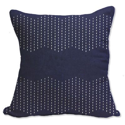 Chevron Check Square Throw Pillow