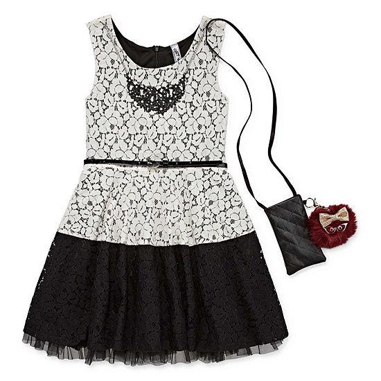 Knit Works Girls Sleeveless A-Line Dress - Preschool / Big Kid