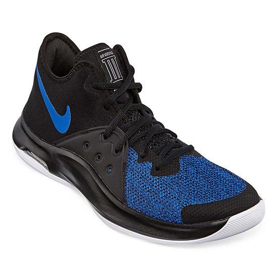 Up Nike Mens Air Shoes Lace Versitile Iii Basketball AcjL34R5q