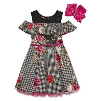 Knit Works Sleeveless A-Line Dress Girls