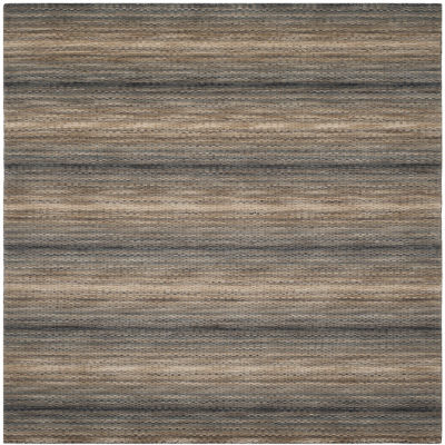 Safavieh Himalaya Collection Chelsey Striped Square Area Rug