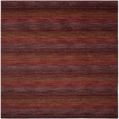 Safavieh Himalaya Collection Lysette Striped Square Area Rug