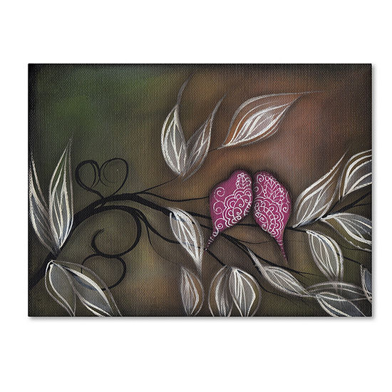 Trademark Fine Art Abril Andrade Til Forever Giclee Canvas Art