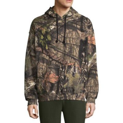 Mossy Oak Long Sleeve Knit Camouflage Hoodie