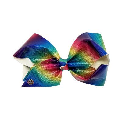 JoJo Siwa Signatiure Stiff Rainbow Glitter Bow