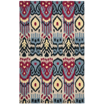 Safavieh Ikat Collection Eirann Geometric Area Rug