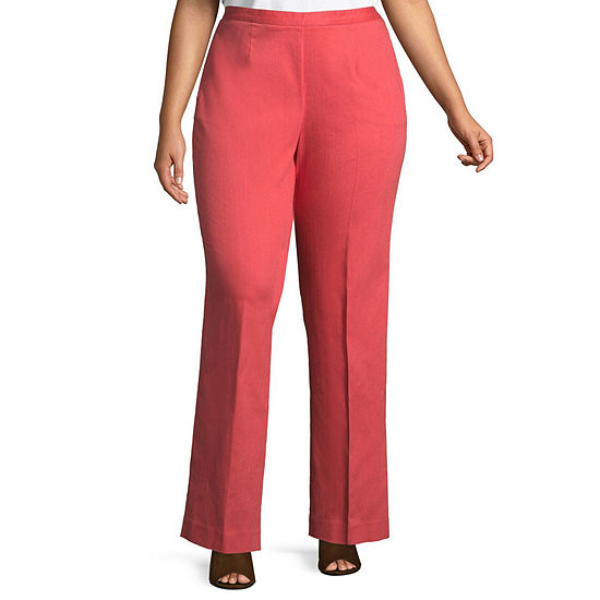 Alfred Dunner Parrot Cay Classic Fit Pant - Plus