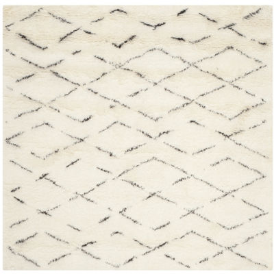 Safavieh Casablanca Collection Alayna Geometric Square Area Rug