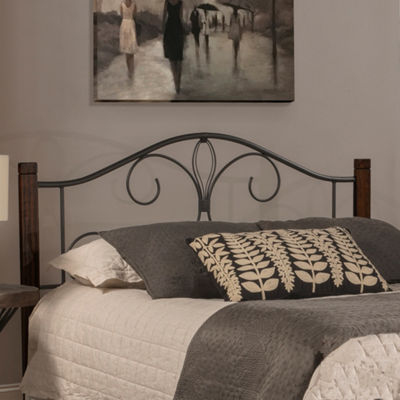 Destin Wood and Metal Headboard