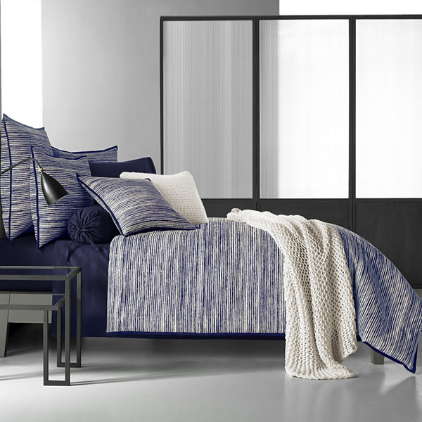Five Queens Court Felix Stripes Duvet Cover