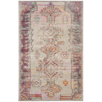 Safavieh Crystal Collection Wyatt Oriental Area Rug