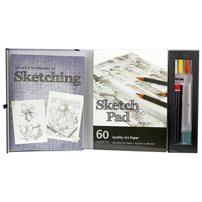 Spicebox Master Class Styles & Techniques Of Sketching Kit