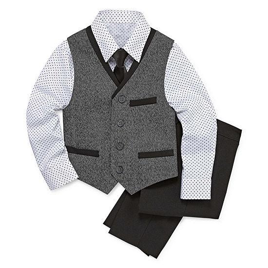 1980cd14df12 Van Heusen 4-pc. Suit Set Boys 4-10 - JCPenney
