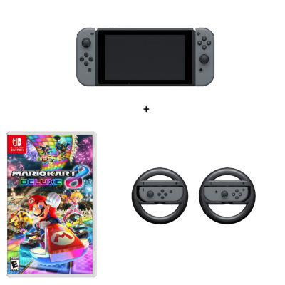 Mario Kart Nintendo Switch Bundle - Gray