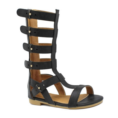 Nicole Miller Little Kid/Big Kid Girls Payton Adjustable Strap Gladiator Sandals