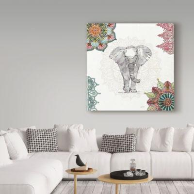 Trademark Fine Art Anne Tavoletti Mandala MorningI Giclee Canvas Art