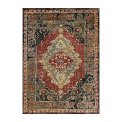 Tayse Fiona Transitional Border Rug Collection